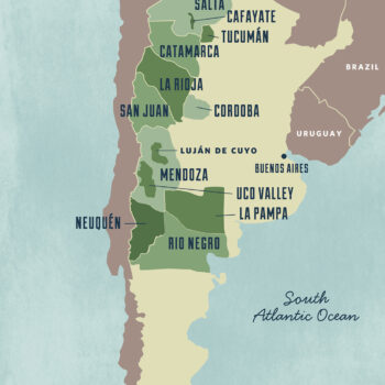 New World Wine Regions - Argentina