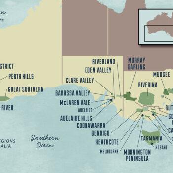 New World Wine Regions - Australia