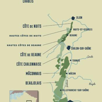Old World Wine Regions - France - Burgundy