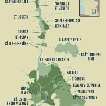 Old World Wine Regions - France - Rhone