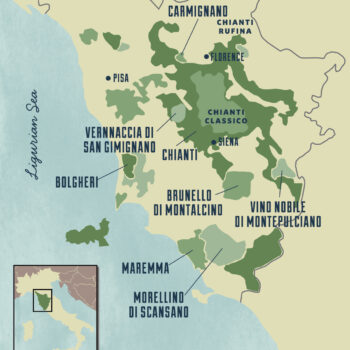 Old World Wine Regions - Italy - Tuscany
