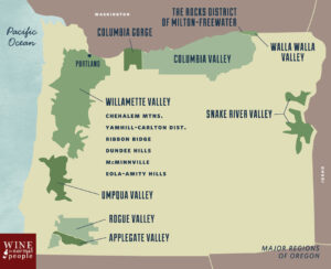 New World - Oregon Wine Regions