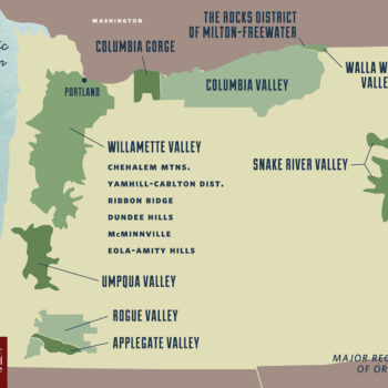 New World - Oregon Wine Regions