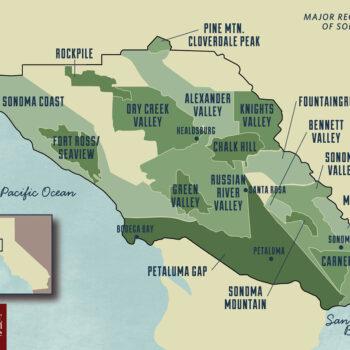 New World - Sonoma Wine Regions