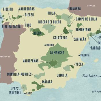 Old World Wine Regions - Spain