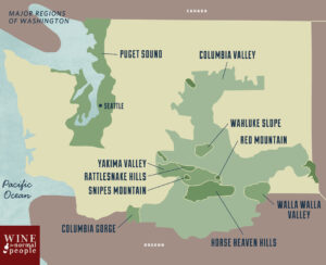 New World - Washington Wine Regions