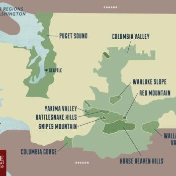New World - Washington Wine Regions